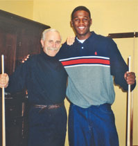 Dr. Jerry Lynch and Kareem Rush